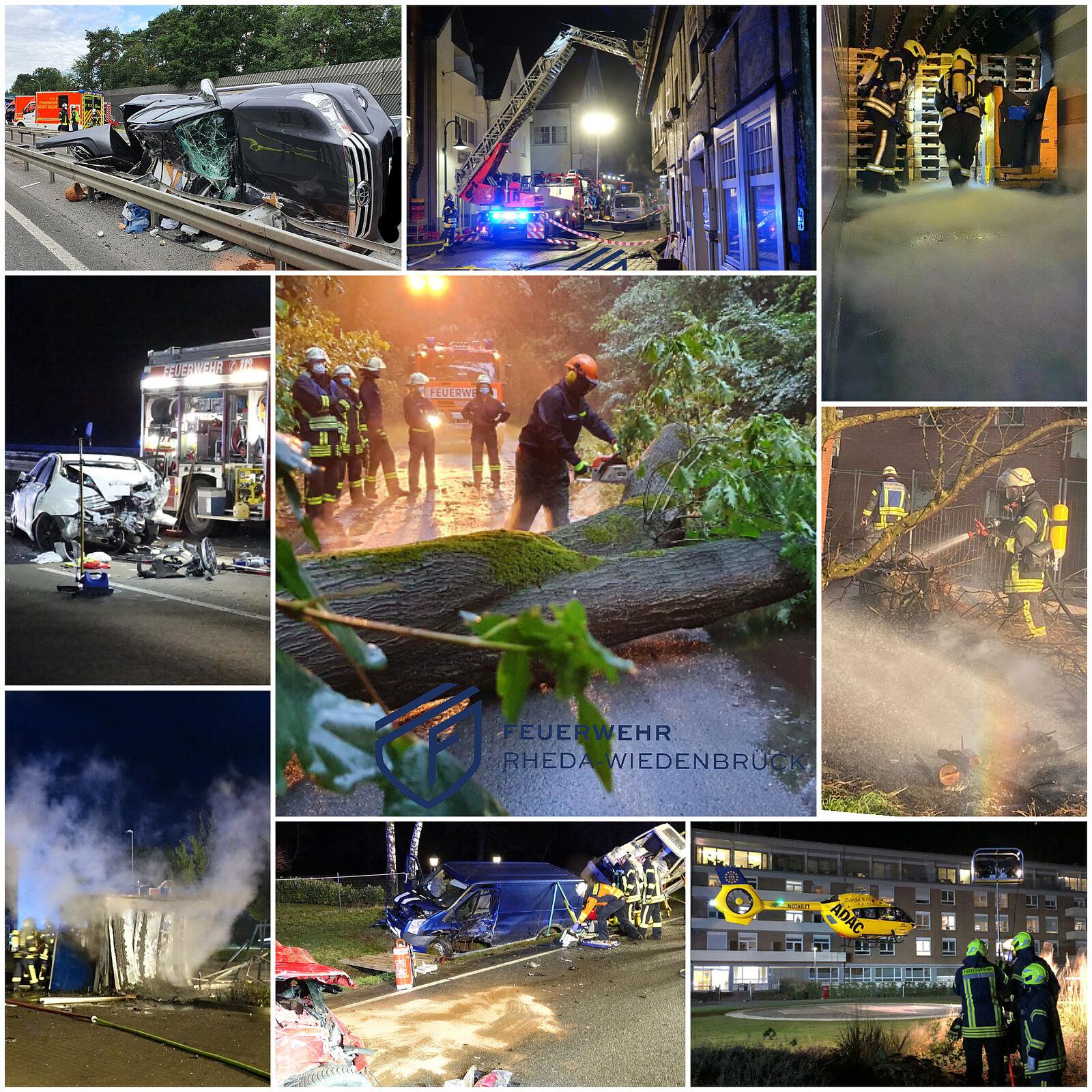 Feuerwehr Rheda-Wiedenbrück: News Details